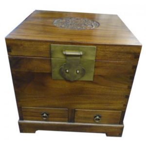 (CB4) Camphor Trunk with 2 Drawers
