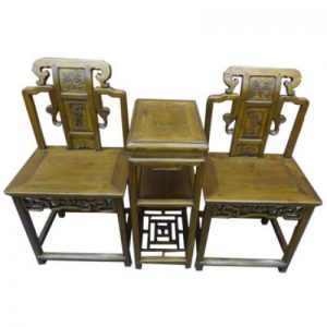 (T7) Chair and Table Set