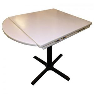 """(FT03) 30"""" Square to 42"""" Round Table"""
