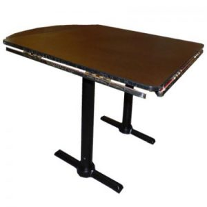 """(FT04A) 40"""" Square to 52"""" Round Table"""