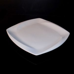 "10"" Square Plate (Vitrified)"