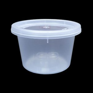 4oz SATCO Round Food Container (1000sets)