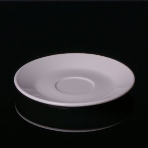 "5.25"" Coffee Saucer plate (12pcs) @ £0.72 each"
