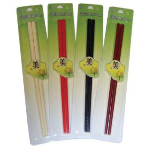 Assorted Plastic Chopsticks (4pairs/pk)