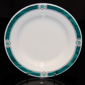 """Cameo Green Round Plate (12"""")"""
