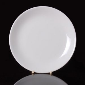 "Cameo Round Coupe Plate (16"")"