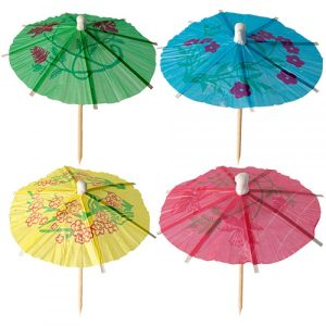 Cocktail Paper Parasols (144pcs)