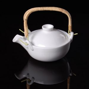 Japanese Style Tea Pot with Bamboo Handle, 200ml