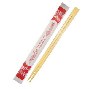 Disposable (RED) Bamboo Chopstick, (1,000pcs)