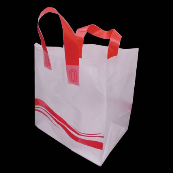 Translucent Plastic Takeaway Bag