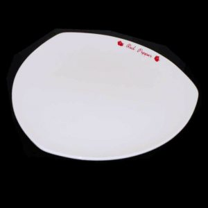 """Triangular Shallow Dish (7"""") (43pcs only in stock)"""
