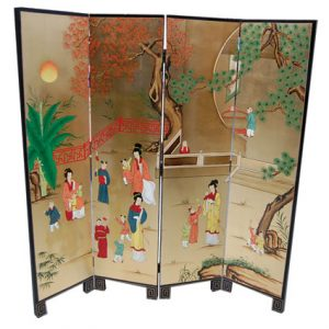 4 Panel Screens (Gold, Women)