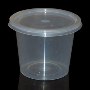6oz Round Food Container (1000sets)