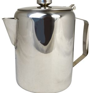 Stainless Steel Tea Pot (Deluxe) - 1ltr / 32oz