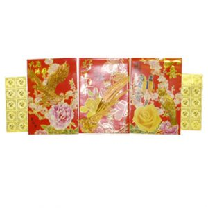 """5"""" Deluxe Red Packet Envelope (3 x 10pcs)"""