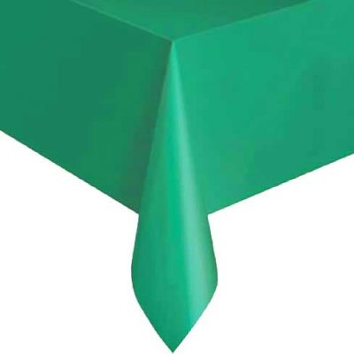 (GREEN)-90cm-Wipeable-Table-Cover-(100pcs)