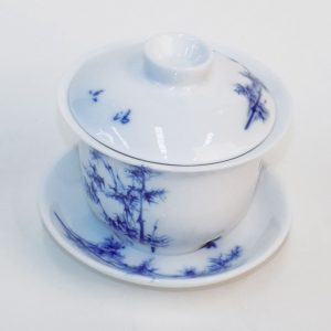Gaiwan - Blue Bamboo (Large)