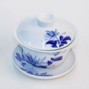 Gaiwan - Blue Flowers (Med)