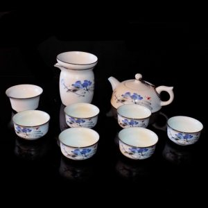 Mini Tea Set - Blue Flowers