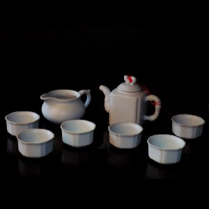 Mini Tea Set - Soft Grey