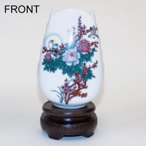 Mini White Vase (Flowers)