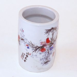 Small Ceramic Pen Holder - Birds