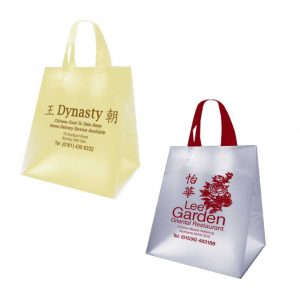 Translucent Plastic Takeaway Bags