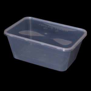 1000cc Rectangular Food Container (250sets)