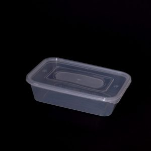 500cc Rectangular Food Container, Extra Strong (250sets)