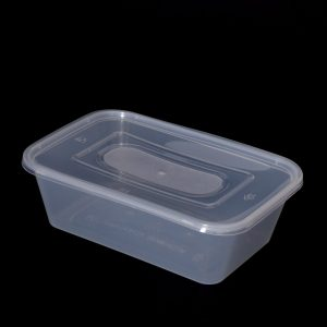 650cc Rectangular Food Container, Extra Strong (250sets)