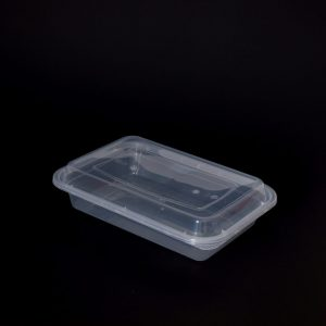 730ml Rectangular Food Container with Dome Lid (300sets)