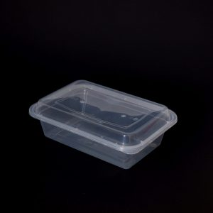 960ml Rectangular Food Container with Dome Lid (300sets)