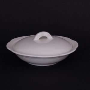 "Cameo Shallow Pot w/Lid (6"")"