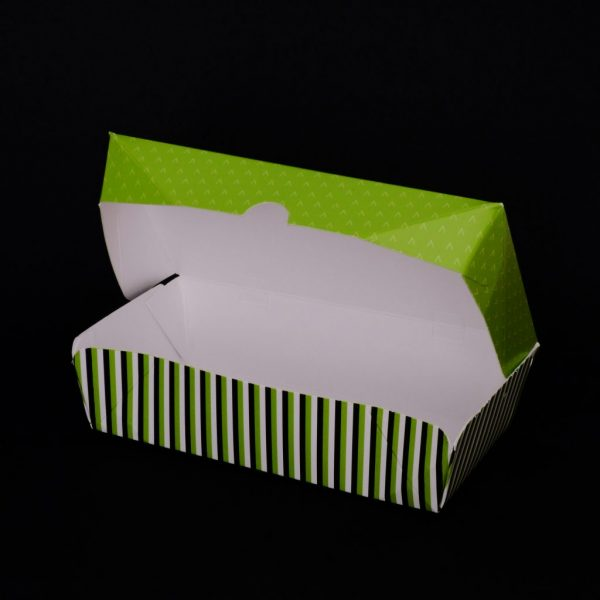'Go Green' Paper Food Container - 640cc20oz1