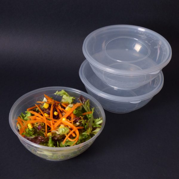 1050cc Clear Round Container