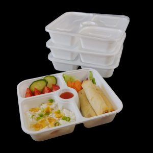 3+1 Compartment Container 920ml