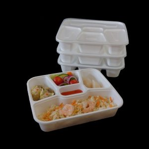 4+1 Compartment Container 800ml